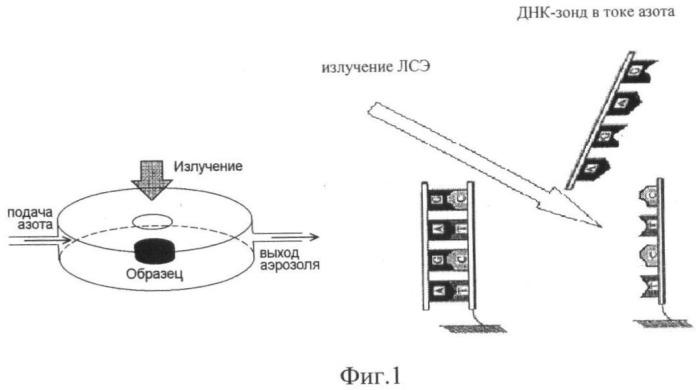 Способ абляции целевой днк с поверхности днк-биочипов
