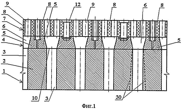 Поднасадочное устройство для воздухонагревателя с блочной насадкой (варианты), выравнивающая плитка (варианты) и опорный элемент для этого устройства