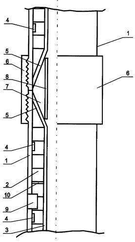 Теплоизолированная колонна