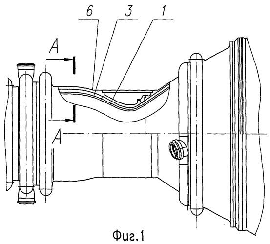 Тракт охлаждения камеры жидкостного ракетного двигателя