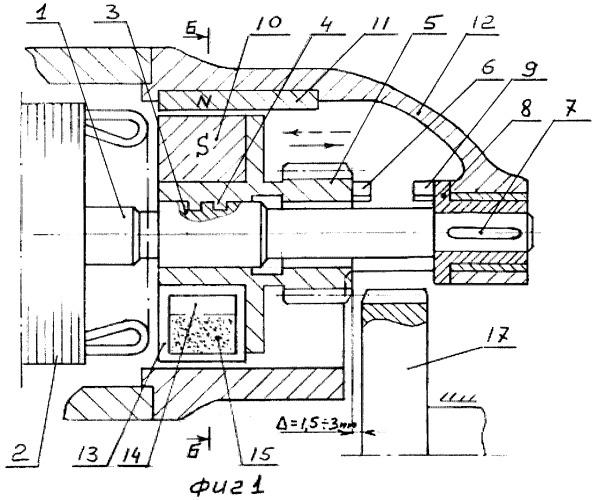 Устройство включения привода автомобильного стартера и электрических машин с постоянными магнитами