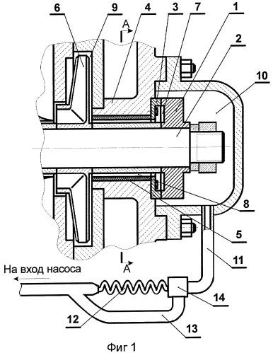 Насос центробежный со встроенным задним подшипником