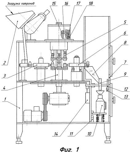 Способ демонтажа патронов стрелкового оружия и устройство для его осуществления