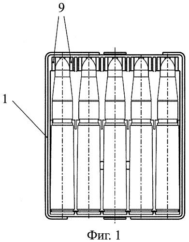 Упаковка патронов