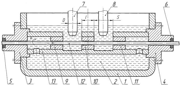 Устройство ультразвукового контроля труб малого диаметра