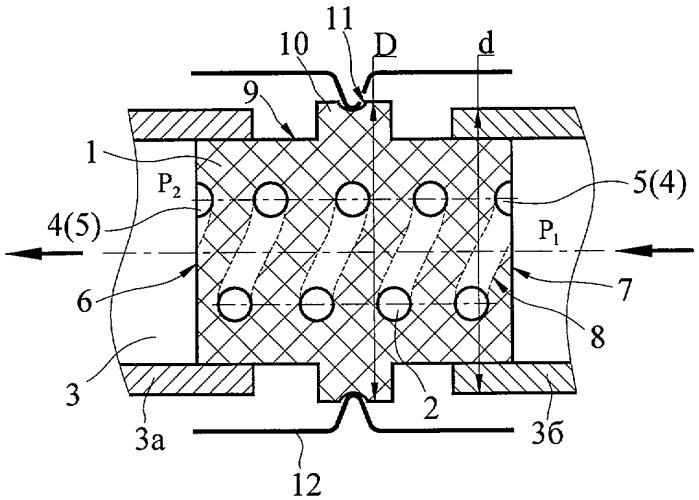 Газоэлектрическая развязка тракта подачи рабочего тела плазменного ускорителя