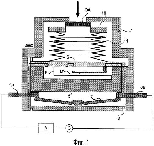 Устройство прерывания/замыкания электрической цепи