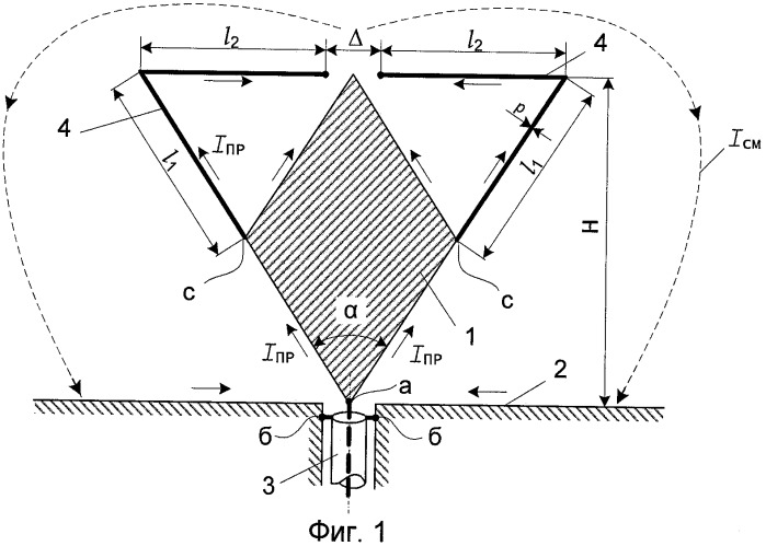 Широкополосный ультракоротковолновый вибратор