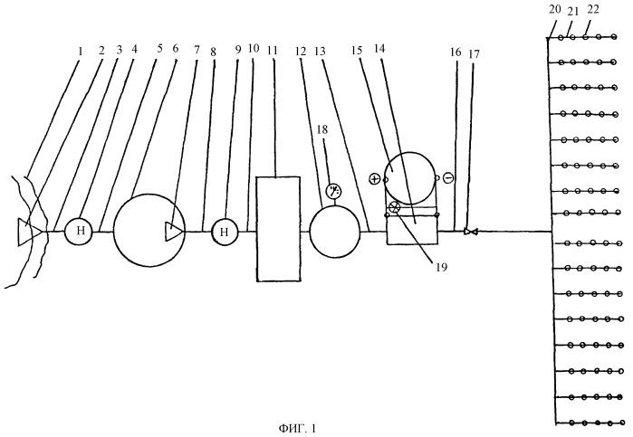 Система капельного орошения с модулем активации оросительной воды