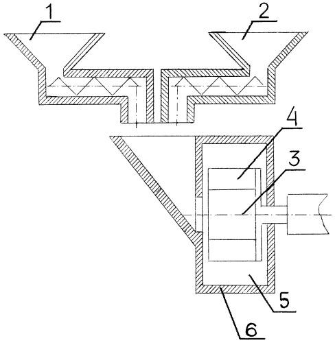 Способ измельчения сыпучих материалов в центробежной мельнице