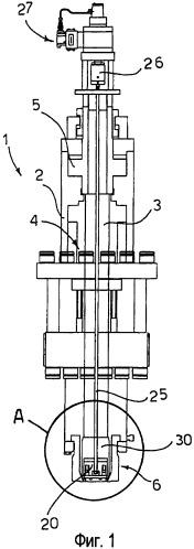 Экструзионная головка для выдувного формования полых тел с системой распределения толщины стенок заготовки