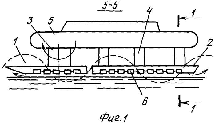 Способ движения аппарата на воздушной смазке и аппарат на воздушной смазке для его осуществления