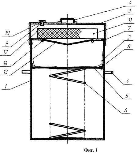 Контейнер для сбора и транспортировки ртутьсодержащих ламп (варианты)