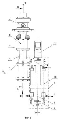 Устройство для заворота крана шарового на устье фонтанирующей скважины