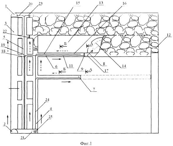 Способ выемки угля подэтажной гидроотбойкой с попутной добычей метана