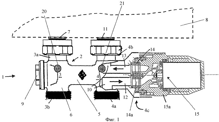 Устройство подсоединения радиатора центрального отопления (варианты)