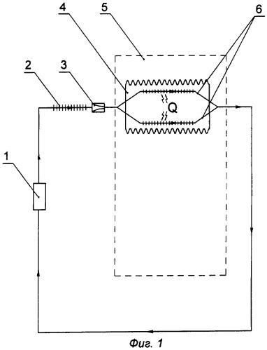Способ охлаждения воздуха в замкнутой полости бытового холодильника и устройство для реализации указанного способа