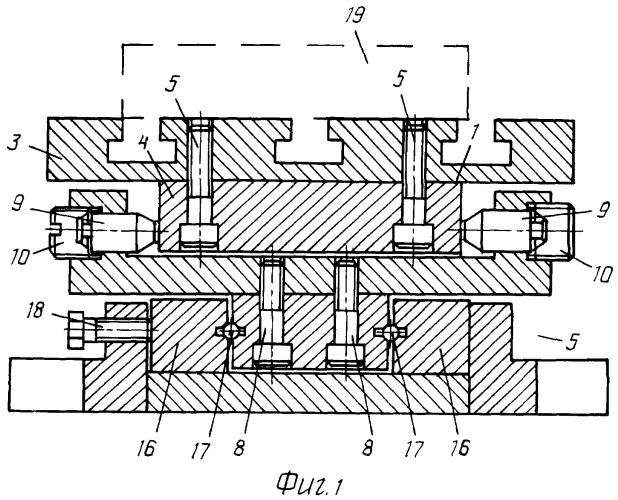 Двухкомпонентный динамометр для измерения составляющих силы резания