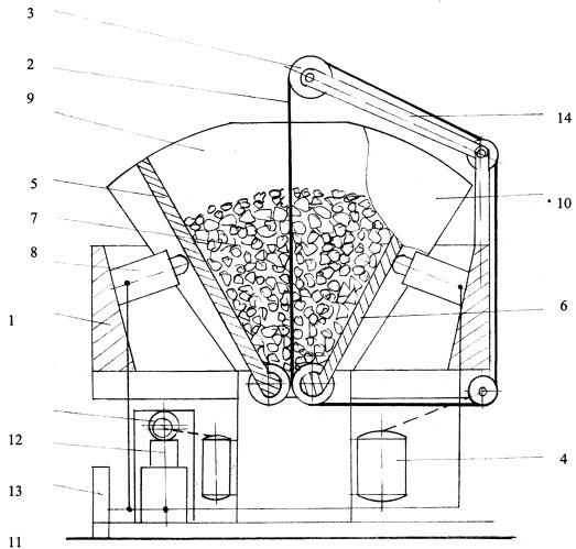 Установка для испытания материалов на трение