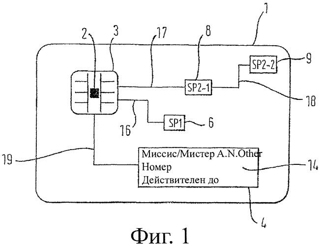 Защищенный документ, содержащий интегральную схему и систему дисплея