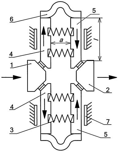 Контактная система сильноточного аппарата