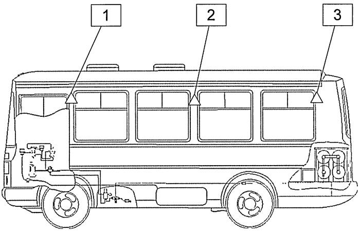 Способ и устройство для обнаружения и предотвращения взрыва в автобусах, работающих на водороде