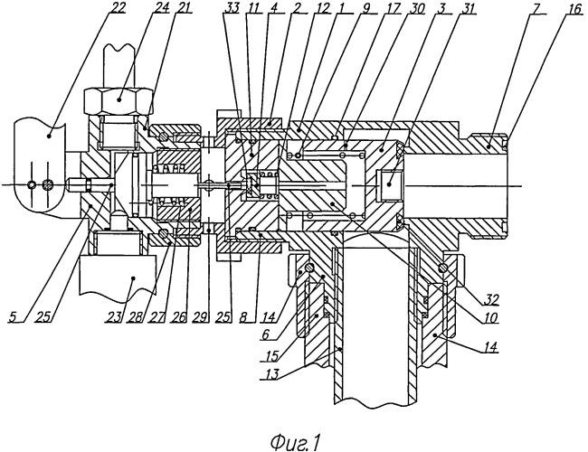 Запорно-пусковое устройство установки газового пожаротушения и приспособление для контроля его работоспособности