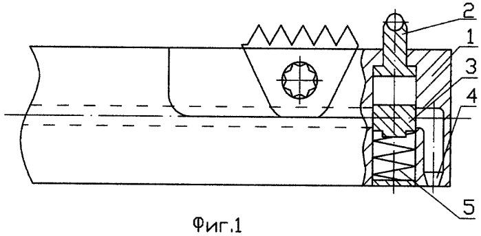 Резцовая головка для фрезерования внутренней резьбы