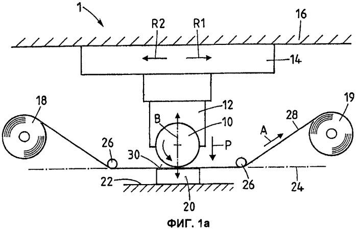 Способ горячего тиснения и устройство для его осуществления