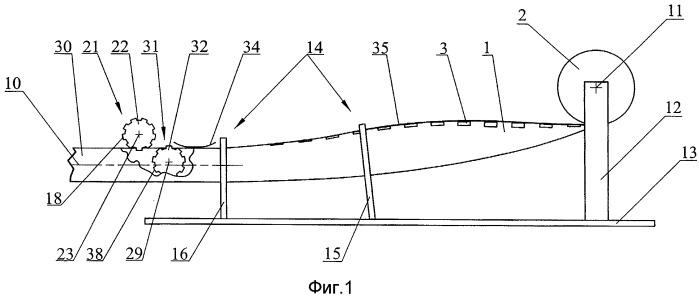 Выдвижной упругий трансформируемый стержневой элемент
