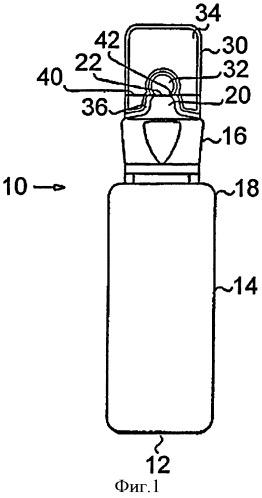 Контейнер из полиэфирной смолы с ломкой частью и способ его изготовления
