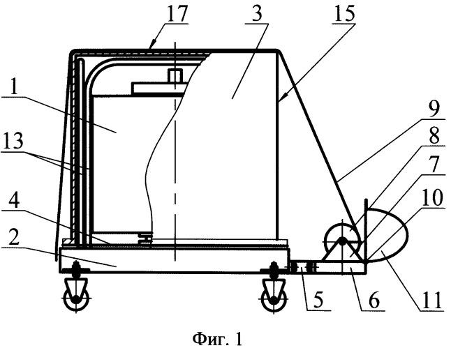 Способ поддержания чистоты космического аппарата при транспортировке и устройство для его осуществления
