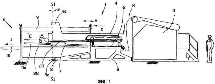 Устройство подачи для режущего устройства