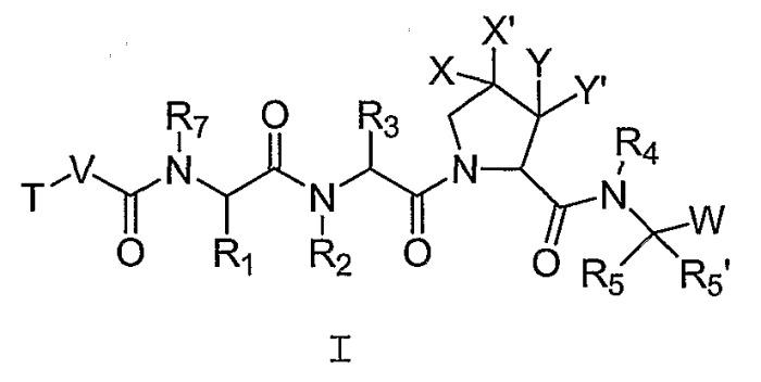 Ингибиторы сериновых протеаз, в частности нс3-нс4а протеазы