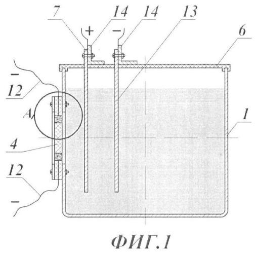 Способ локального нанесения металлических покрытий на образцы термоэлектрических материалов электролитическим методом