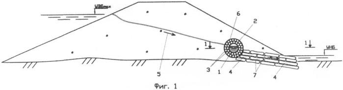 Способ возведения трубчатого дренажа
