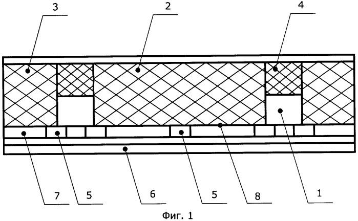 Ограждающая конструкция с металлическим каркасом