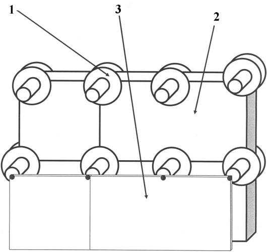 Сборная конструкция для возведения многослойных стен