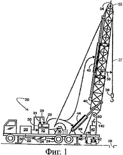 Способ определения свойств блока установки для ремонта скважин путем оценки данных установки