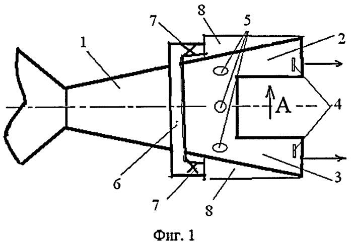 Способ управления вектором тяги реактивного двигателя и сверхзвуковое сопло