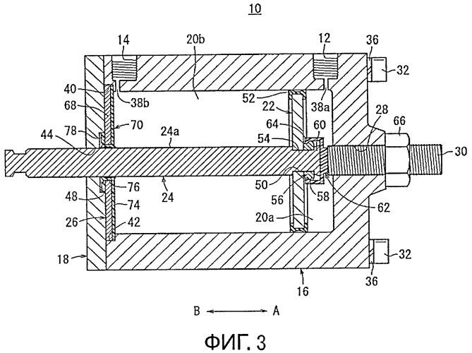 Конструкция уплотнительного узла для гидро- или пневмопривода
