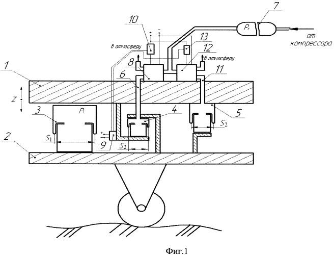 Способ гашения вертикальных колебаний объектов с пневматической подвеской