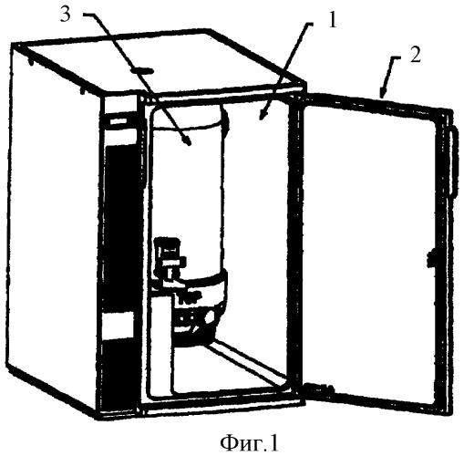 Холодильное устройство для охлаждения напитков, находящихся под давлением