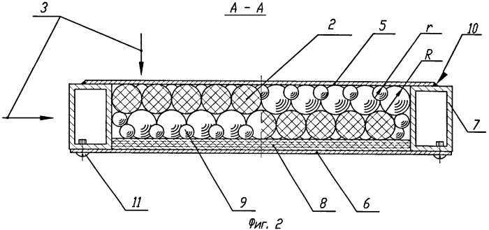 Способ изготовления мозаичного бронеблока и мозаичный бронеблок
