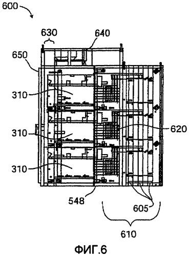 Система конструктивного оформления для модульных силовых ячеек