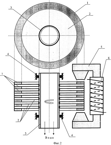 Ротор ферромагнитовязкого двигателя