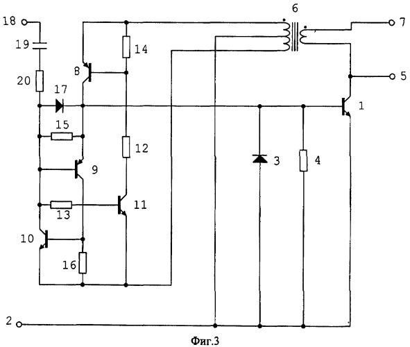 Транзисторный ключ с пропорционально токовым управлением