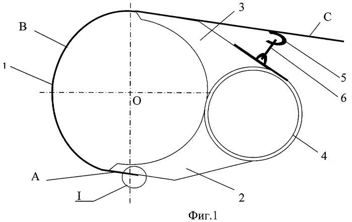 Механизм крепления скатов барабанного подборщика