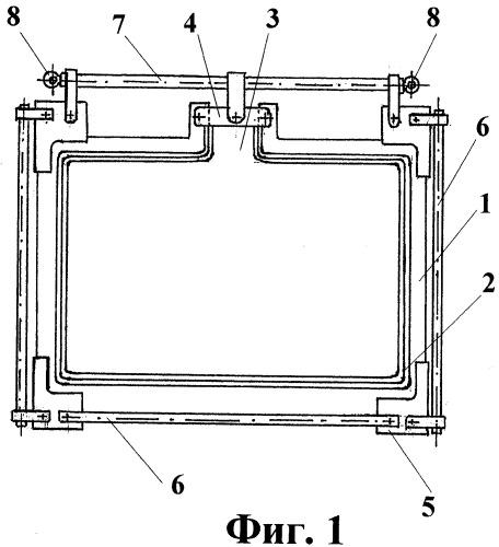 Уплотнитель для полимеризационной формы (варианты), прокладка из эластичного полимерного материала (варианты) и устройство для получения листовых полимерных материалов (варианты)