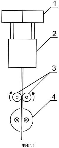 Устройство для получения многослойного оптического волновода